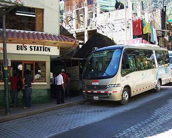 Come acquistare i biglietti di autobus – Aguas Calientes a Machu Picchu?