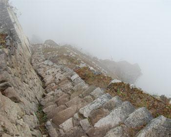 Huayna Picchu: Le scale della morte