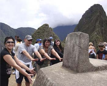 Turismo spirituale a Machu Picchu