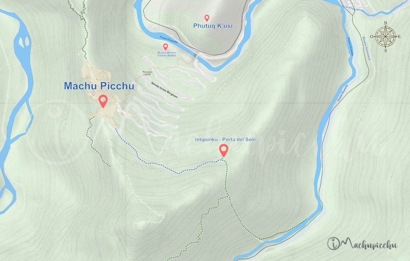 Rotta Intipunku - Machu Picchu